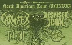 Carnifex/Despised Icon Headlining Tour