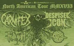 Carnifex/Despised Icon Headlining Tour